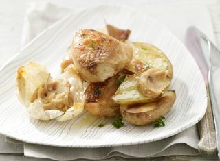 Pollo con patate