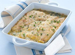 Filetti di merluzzo al forno alla bretone