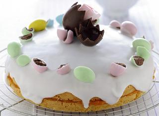 Torta glassata di Pasqua
