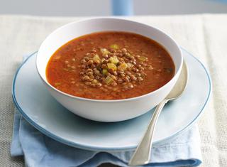 Zuppa di lenticchie umbra
