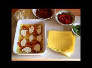Ricetta: lasagne al forno con peperoni