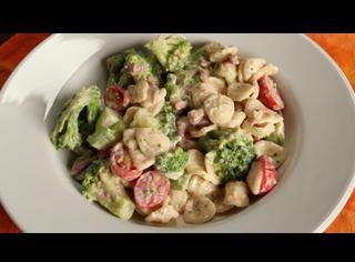 Come preparare pasta broccoli e pancetta