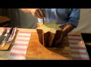 Come farcire il pandoro con la crema al mascarpone