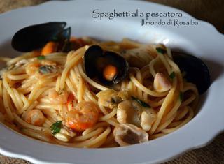 Ricetta: spaghetti alla pescatora