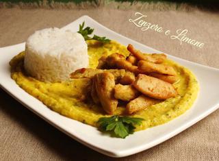 Ricetta: riso e pollo al curry