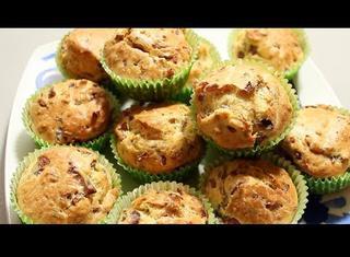 Ricetta: cupcakes salati alla mortadella