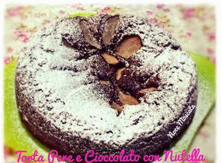 Come preparare la torta pere e cioccolato