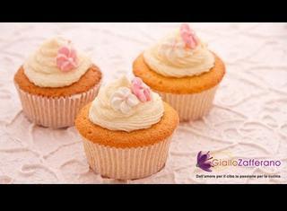 Ricetta: cupcakes alla vaniglia