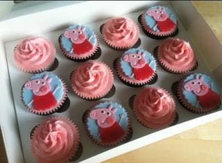 Come fare i cupcakes con Peppa Pig