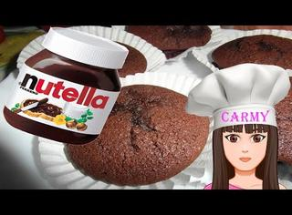 Muffin al cuore di Nutella