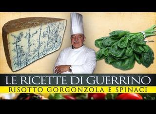 Come preparare il risotto agli spinaci e gorgonzola