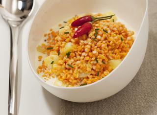 Ricetta: lenticchie al curry