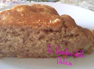 Ricetta: torta di farina integrale al cioccolato