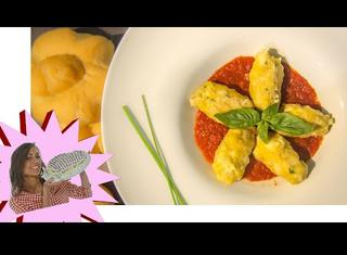 Gnocchi di pane al pomodoro e basilico