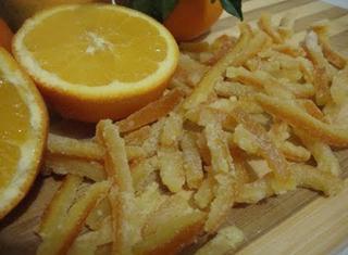 Come caramellare le bucce d'arancia
