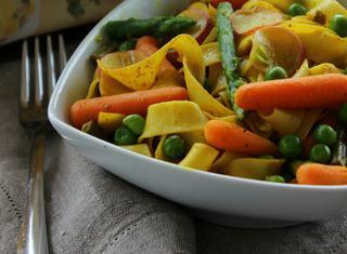 Tagliatelle al curry
