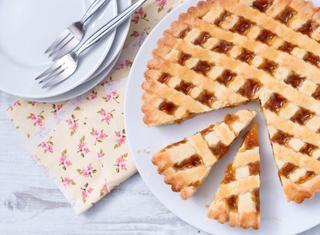 Ricetta: crostata alla confettura di albicocche