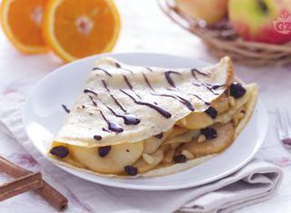 Crepes torta di mele