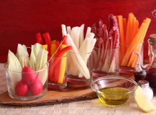 Pinzimonio di verdure: ricetta