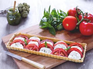 Ricetta: torta salata caprese