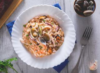 Ricetta: il risotto alla pescatora
