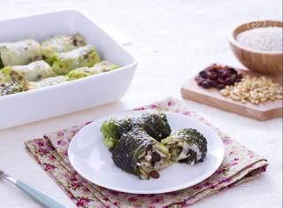 Ricetta: involtini di verza con riso e scarola