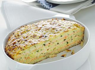 Ricetta: timballo di riso con salmone