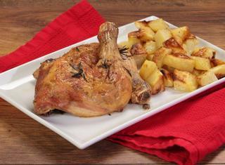 Ricetta: pollo al forno al vino bianco con patate