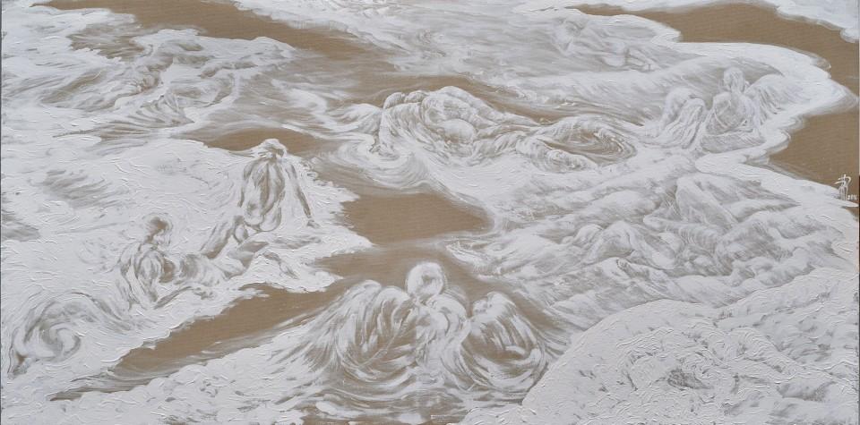 La memoria del aqua di Rossella Rossi - pittrice