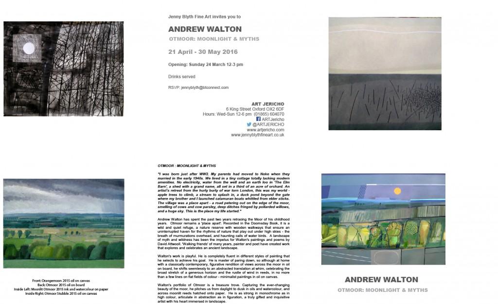 ANDREW WALTON OTMOOR INVITE at AJ
