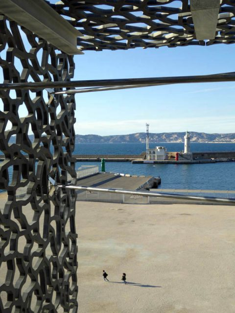 Sea view from MuCEM