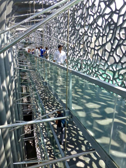 Mucem walkways