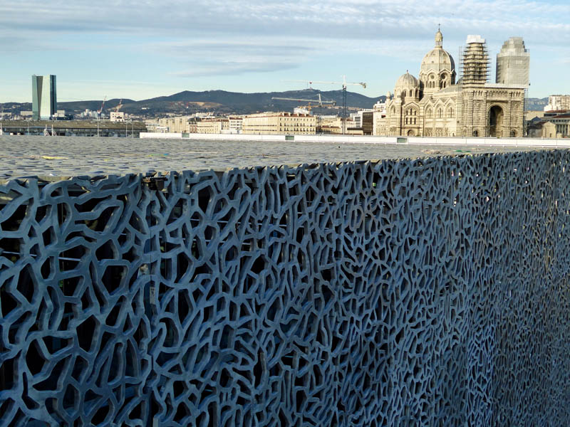 Mucem top floor view