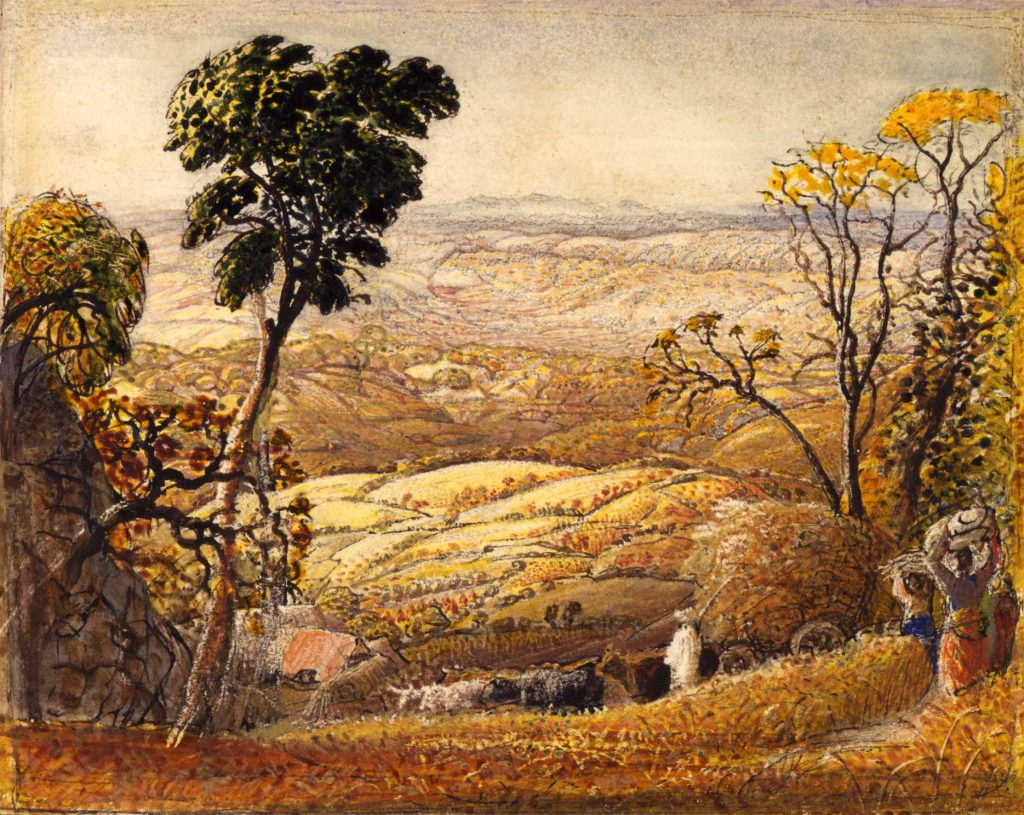 Samuel Palmer 'The Golden Valley' c
