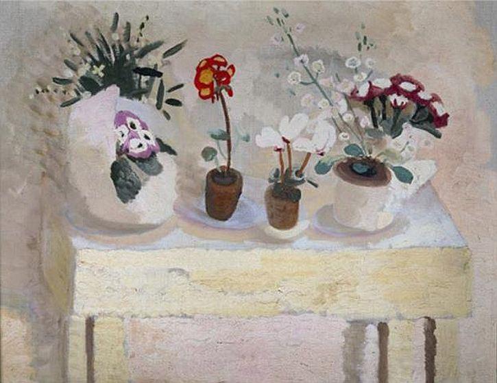 winifred-nicholson-flower-table-pots-1927