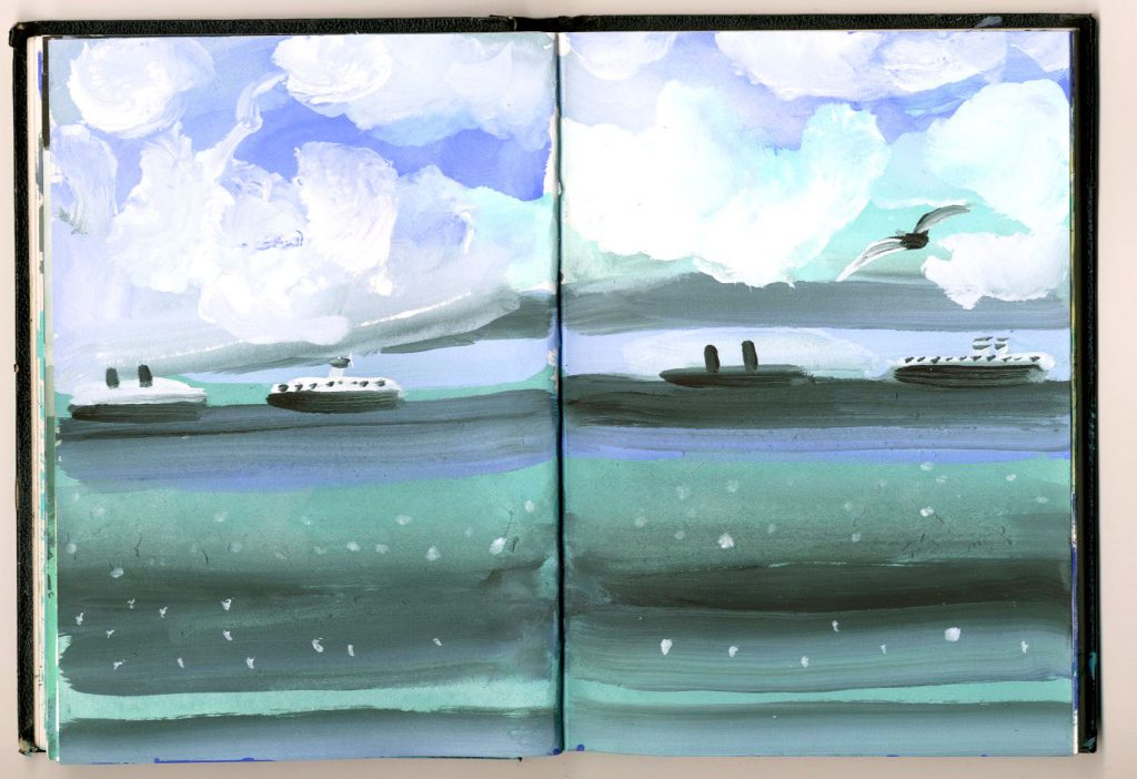 ships-and-white-clouds