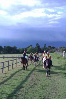 Duke of Edinburgh on Horse Back