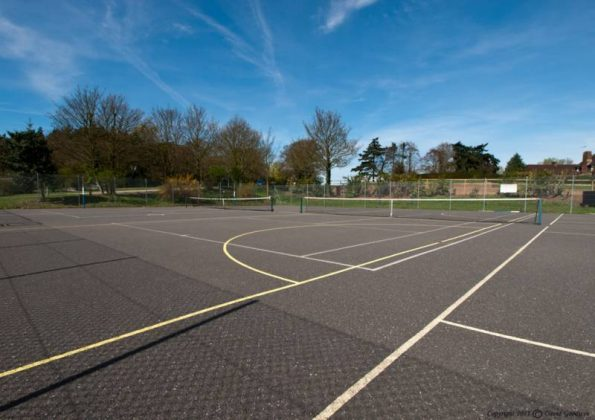 Tennis & Netball hard courts