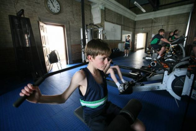 Gym available to all pupils