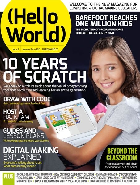 Hello World Issue 2 cover
