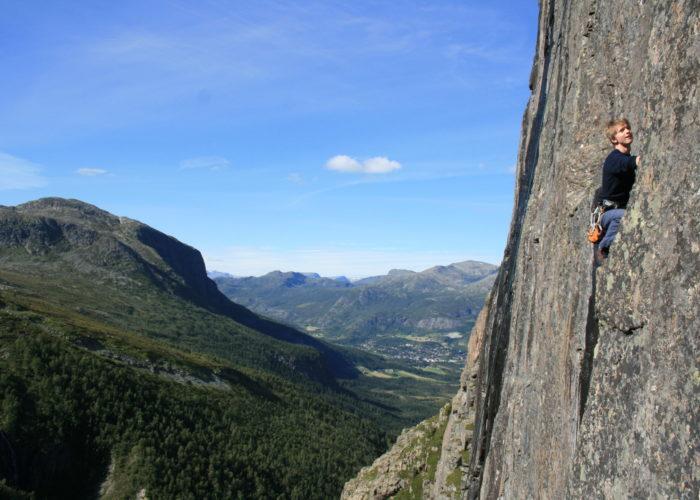 Klatring på klatrefelt