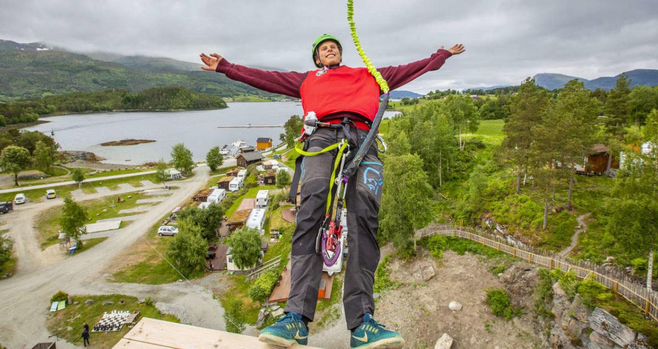 Havørna Quick-Jump - Høyt & Lavt Valsøya