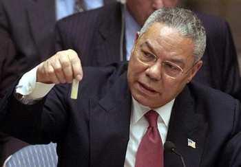 """Colin Powell et sa fiole sont le symbole même du """"Post-Truth"""""""