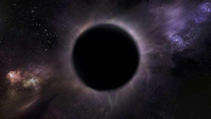 Une autre représentation d'artiste d'un trou noir intermédiaire potentiel qui se trouve au centre de l'amas globulaire 47 du Toucan (47 Tucanae) - Crédit : B. Kiziltan et T. Karacan