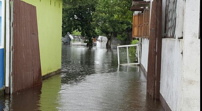 Inondations et dégats du cyclone Enawo à Madagascar