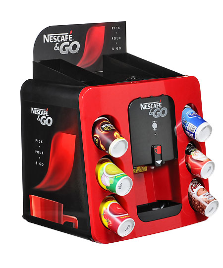 Nestle coffee machine commercial images