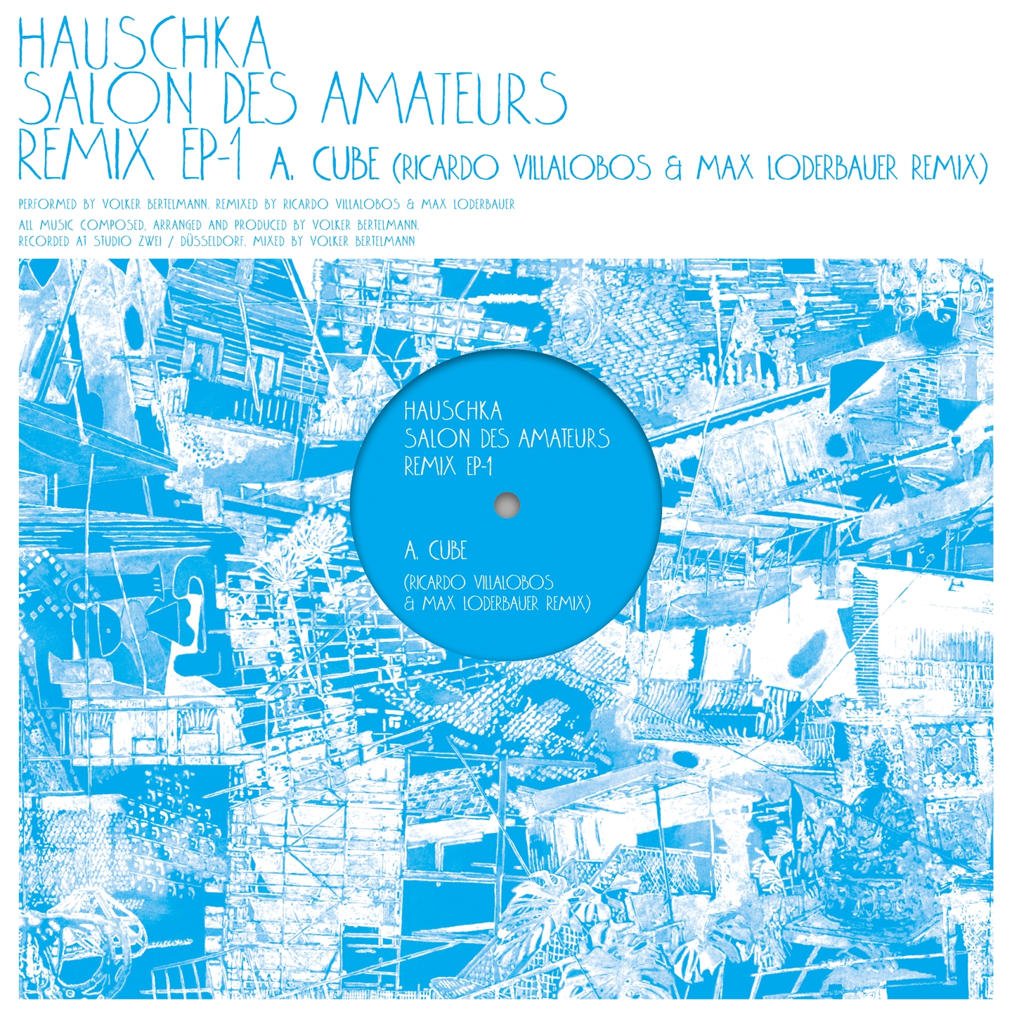 Hauschka - Salon des Amateurs Remix  EP1