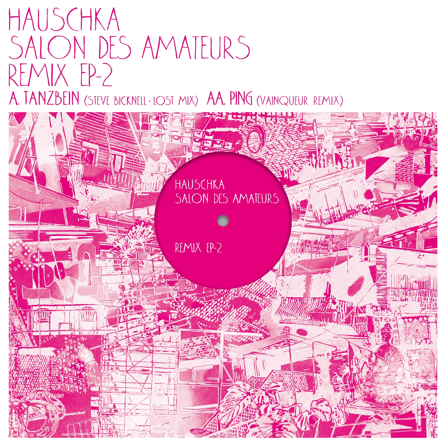 Hauschka - Salon des Amateurs Remix  EP2