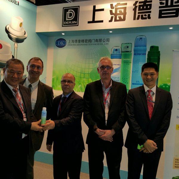 Salvalco Team in China