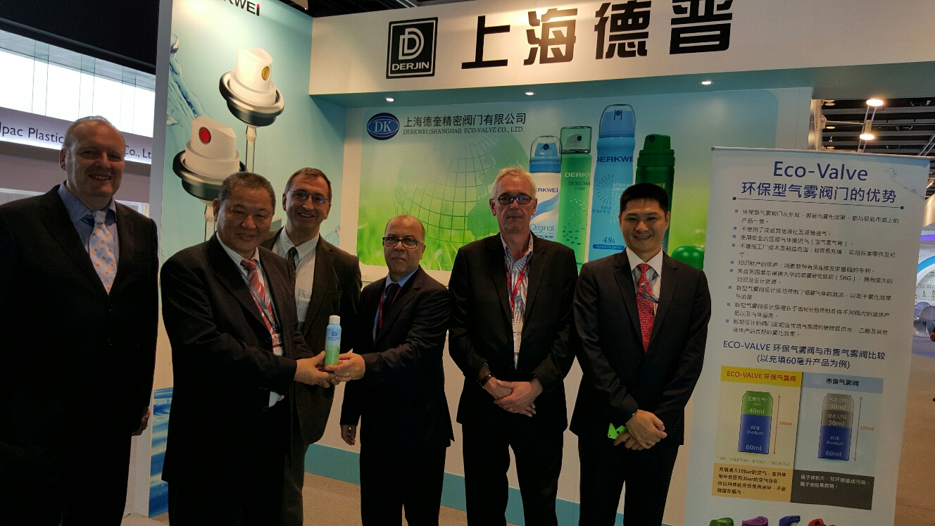 Exhibiting the Eco-Valve in China